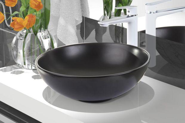 Umywalki nablatowe zaliczane są do grona najbardziej eleganckich modeli ceramiki łazienkowej.Zobaczcie model o miękkich liniach, dostępny w dwóch klasycznych, kontrastujących kolorach.