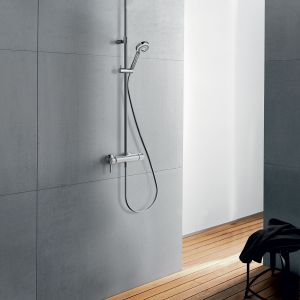 Zestaw Kludi Logo Dual Shower System. Fot. Kludi