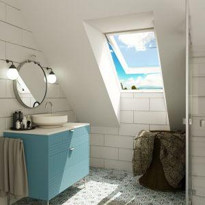 Okno Igk w łazience. Fot. Okpol