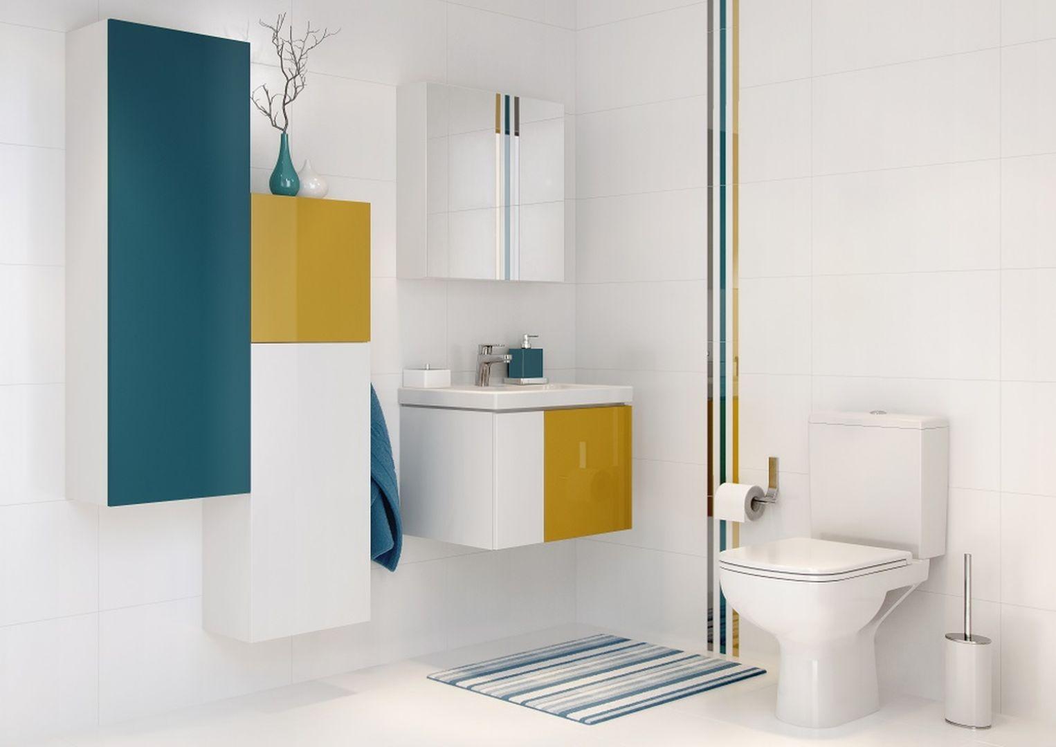 Meble łazienkowe z kolekcji Colour. Fot. Cersanit