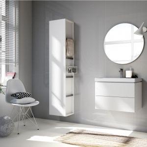 Białe meble łazienkowe z kolekcji City. Fot. Cersanit