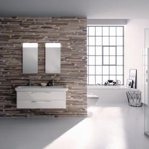 Białe meble łazienkowe z kolekcji Life! Fot. Koło