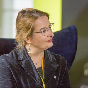 Sesja Pokolenie nomadów – jak projektować dla dzieci mobilnej kultury: Magdalena Gruna. Fot. Piotr Waniorek