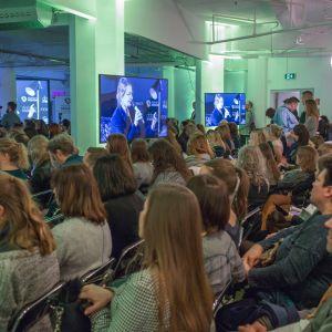 Sesja Pokolenie nomadów – jak projektować dla dzieci mobilnej kultury. Fot. Piotr Waniorek