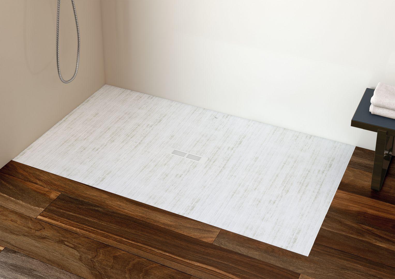 Brodzik prysznicowy Helios w kolorze biały dekatyzowany' wym. 140x80. Fot. Roca