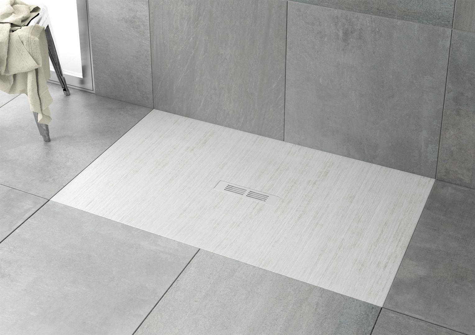 Brodzik prysznicowy Helios w kolorze biały dekatyzowany; wym. 160x90. Fot. Roca