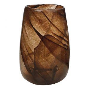 Piękny, elegancki świecznik w bursztynowym kolorze Amber to elegancki detal do każdego wnętrza, np. salony kąpielowego. Westwing.pl