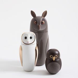 Bardzo oryginalne i urokliwe pojemniki firmy Bosa wyglądające jak sympatyczne sowy to prezent idealny dla wszystkich wielbicieli dobrego designu i zwierząt. Mood-Design.pl