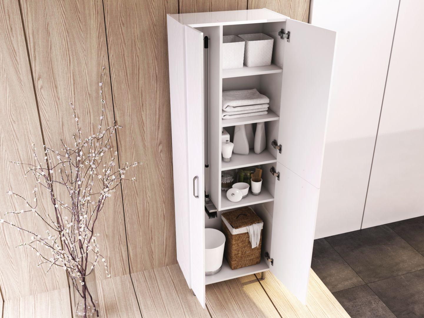 Amigo 60 3D – funkcjonalny słupek meblowy z miejscem na przechowywanie np. kosza na bieliznę. Cena: 872,07 zł. Fot. Elita
