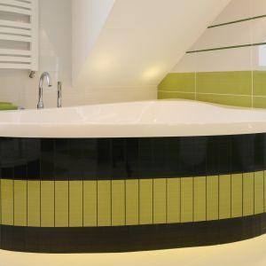 Miejsce 5. Remont łazienki: te kolory będą modne w 2017 roku. / Proj. na zdjęciu: Magdalena Bonin-Jarkiewicz. Fot. Bartosz Jarosz