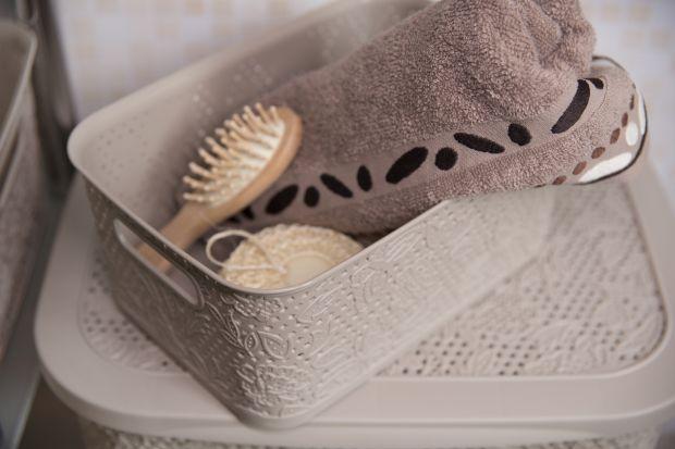 Gdzieumieścimy wszystko, co niezbędne w naszej łazience? Do przechowywania przedmiotów idealne będą na pewno różnej wielkości kosze.