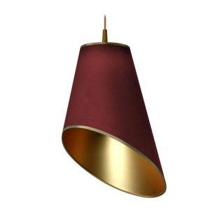 Efektowna lampa Trunkate Red w kolorze Marsala połączonym z miedzianym odcieniem. Fot. Westwing.pl