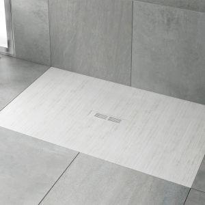 Płaski brodzik Helios w kolorze biały dekatyzowany firmy Roca. Fot. Roca