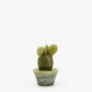 5. ŚWIECE – urokliwe zielone świeczki w kształcie małych kaktusów. Fot. Zara Home