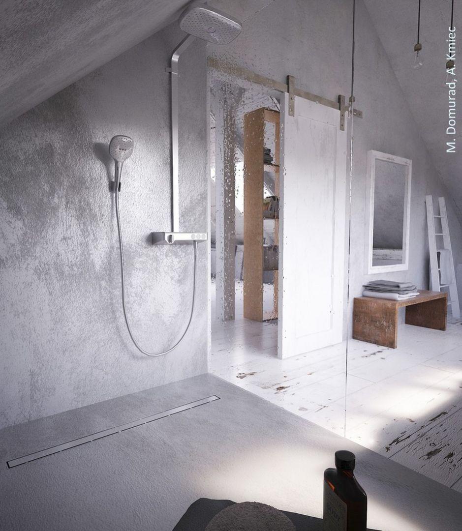 Odpływ prysznicowy KESSEL Linearis Compact. Fot. M.Domurad, A.Kmieć