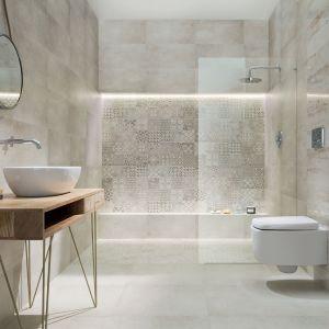 Płytki jak beton z kolekcji Sfumato firmy Ceramika Tubądzin. Fot. Tubądzin