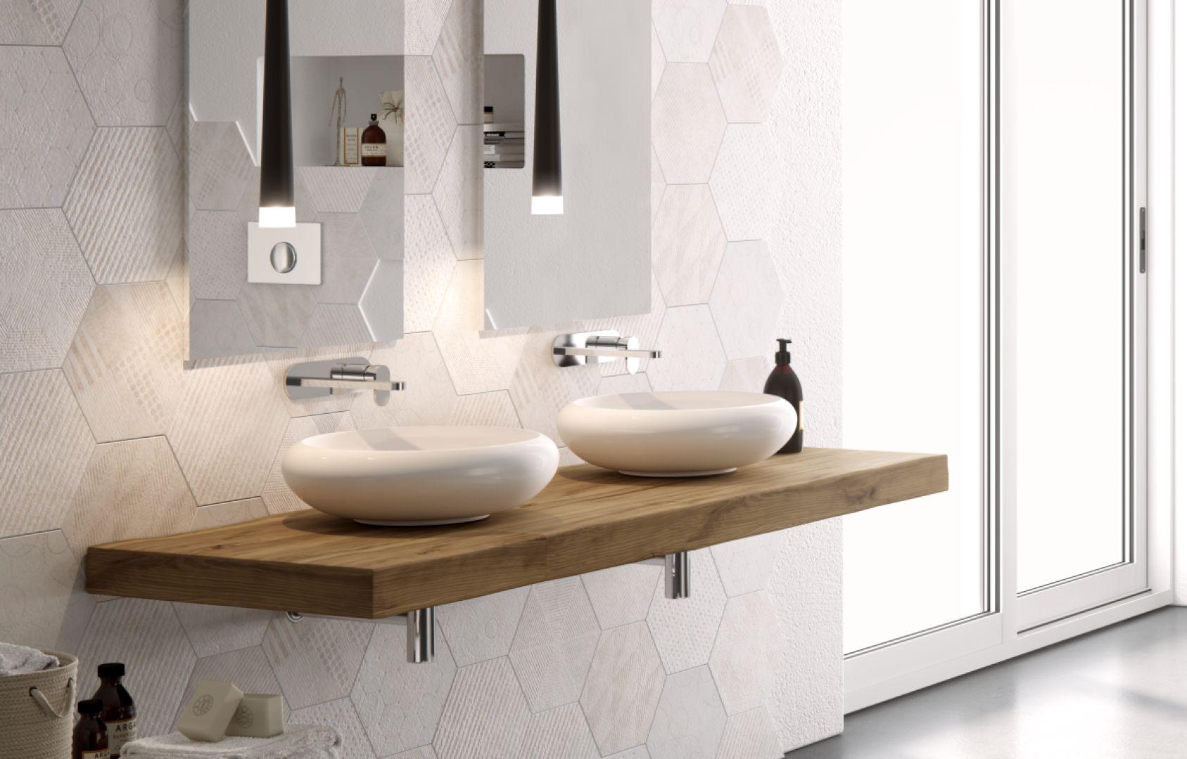 Umywalki nablatowe z serii Tao firmy Hidra. Fot. Hidra