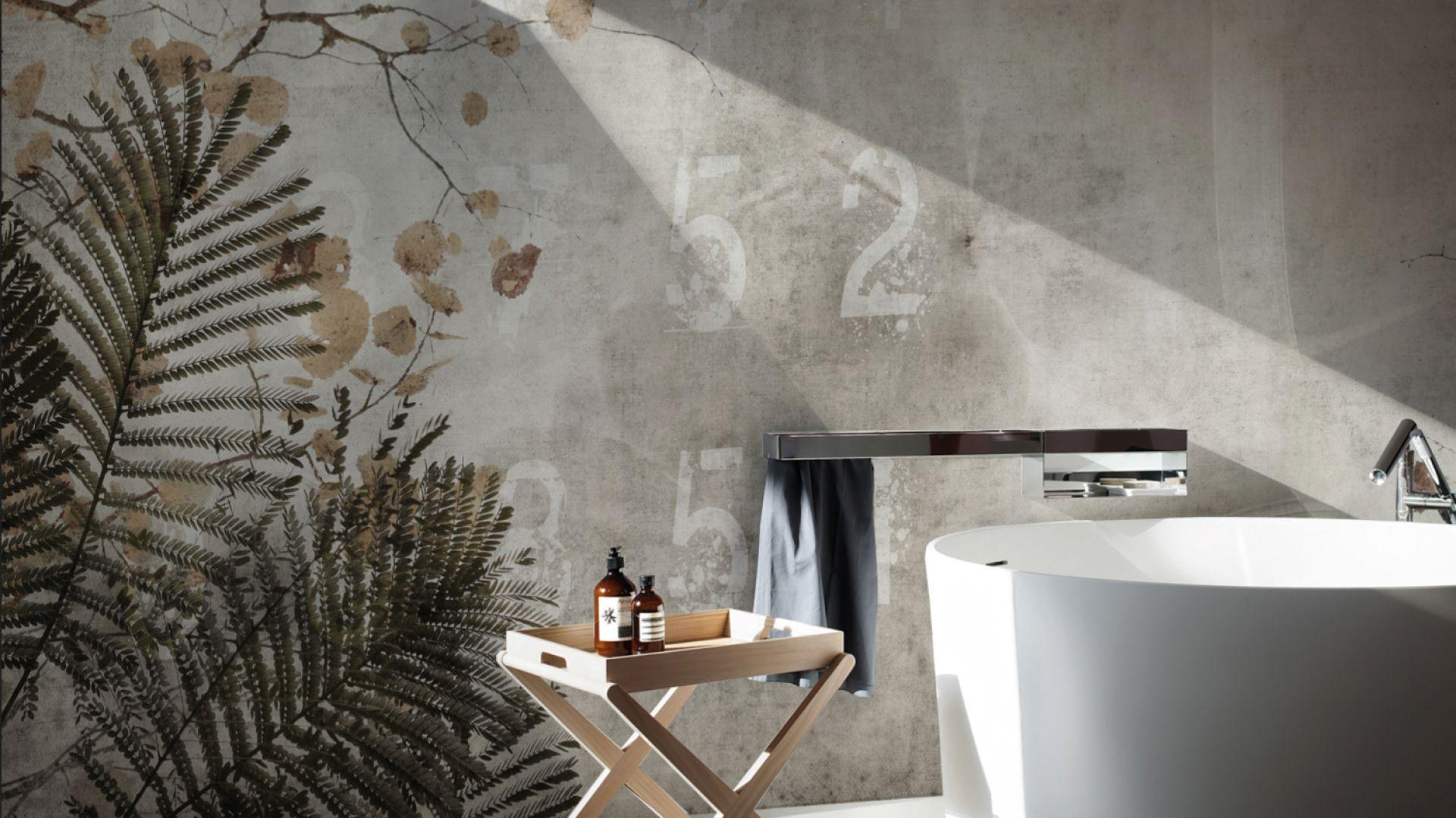 Wodoodporna tapeta Concrete Acacia z kolekcji David Selection. Fot. N.O.W. Edizioni