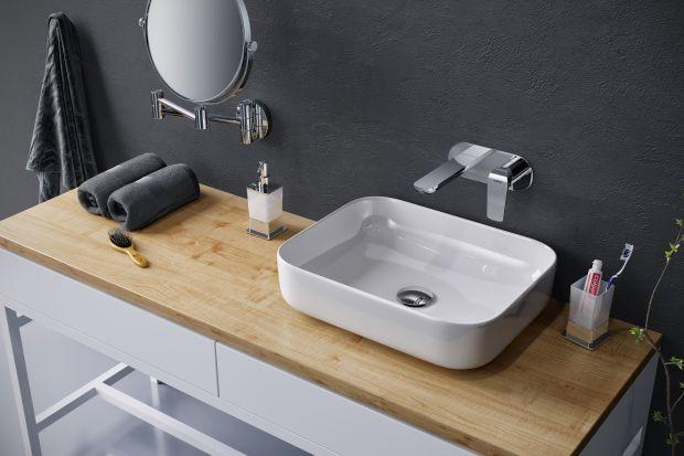 Istnieje kilka rodzajów baterii umywalkowych.Do nowoczesnej łazienki idealnie pasować będą ścienne modele podtynkowe.