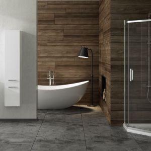 Pięciokątna kabina prysznicowa New Komfort firmy New Trendy. Fot. New Trendy