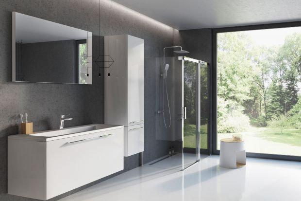Meble łazienkowe: 10 kolekcji na wysoki połysk