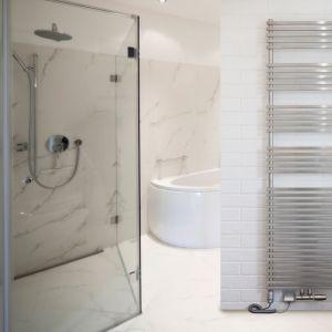 Grzejnik łazienkowy ze stali nierdzewnej Gocta. Fot. Luxrad