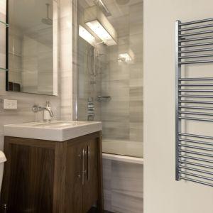 Grzejnik łazienkowy ze stali nierdzewnej Makalu. Fot. Luxrad