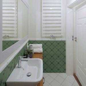 Ściany zostały pomalowane farbą zmywalną w kolorze pastelowej zieleni, która doskonale dopełniła całości. Fot. Jacek Gadaj
