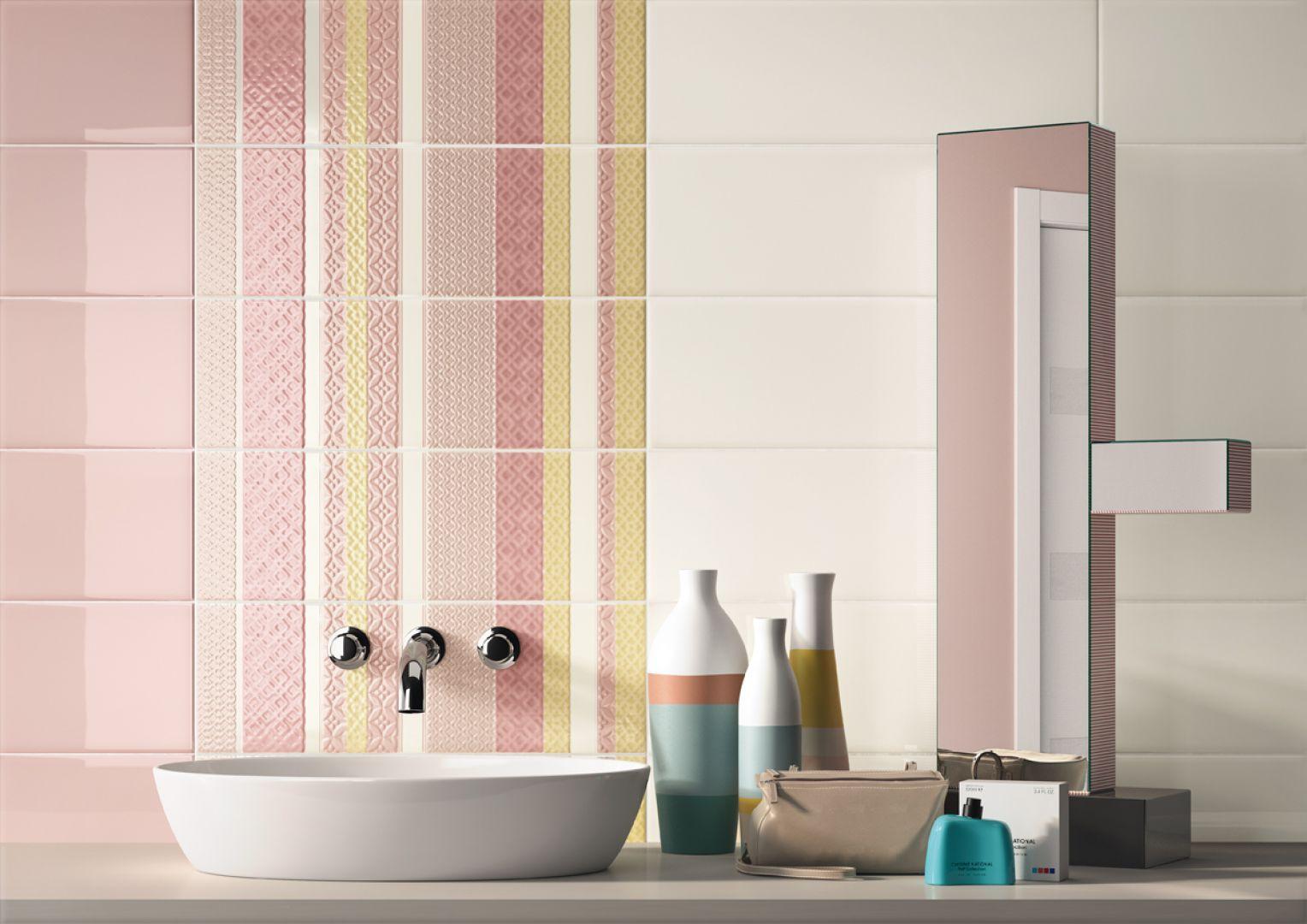 Kolorowe płytki ceramiczne z kolekcji Glass marki Imola Ceramica. Fot. Imola Ceramica