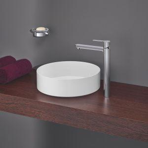 Bateria umywalkowa z serii Lineare. Fot. Grohe