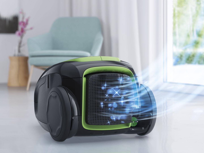Odkurzacz Ultrasilencer Zen Green. Fot. Electrolux