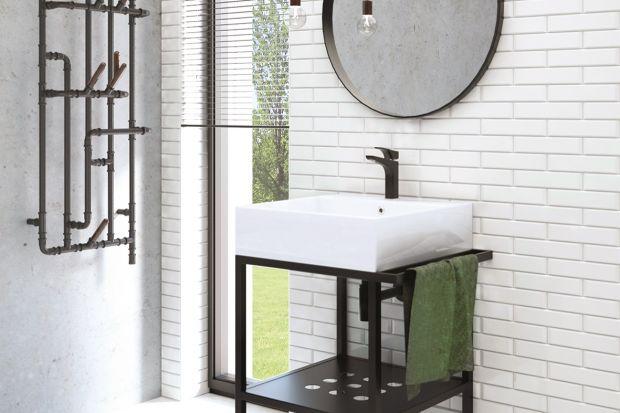 Łazienkowy duet: umywalka plus konsola
