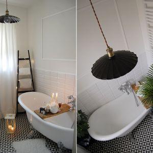 Klimatyczne oświetlenie w łazience. Lampa Herbert. Fot. Britop Lighting