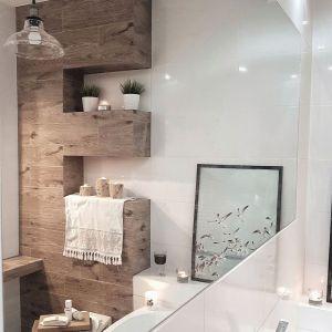 Klimatyczne oświetlenie w łazience. Lampa Conrad. Fot. Britop Lighting