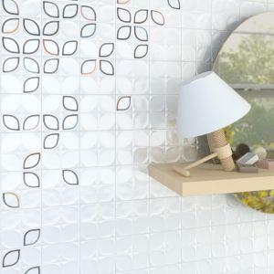Płytki ceramiczne z dekorem z serii Etnia marki Vives. Fot. Vives