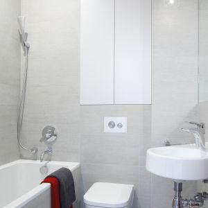 Mała łazienka. Proj. Małgorzata Łyszczarz. Fot. Bartosz Jarosz