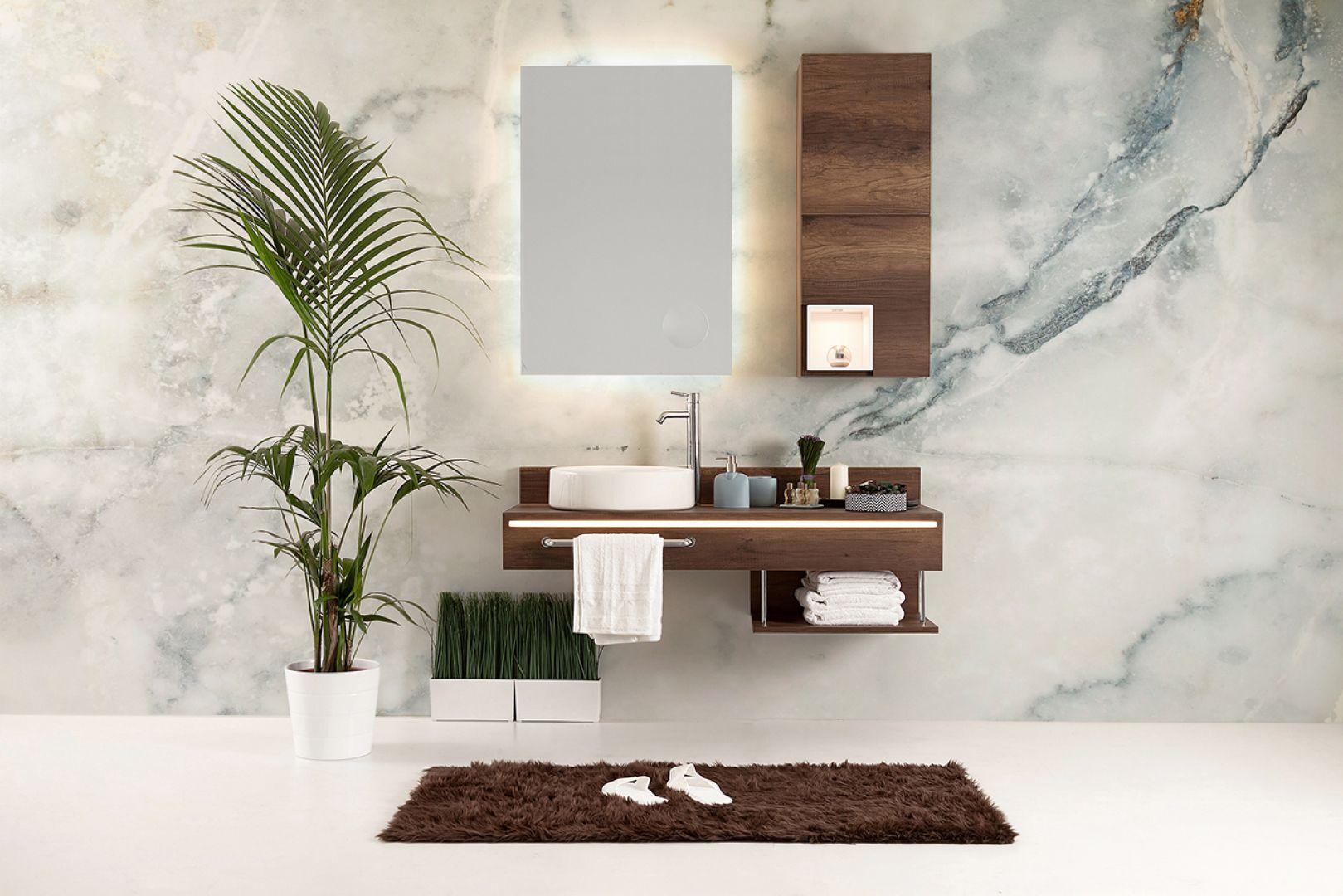 Wodoodporna fototapeta w łazience. Fot. Myloveview.pl