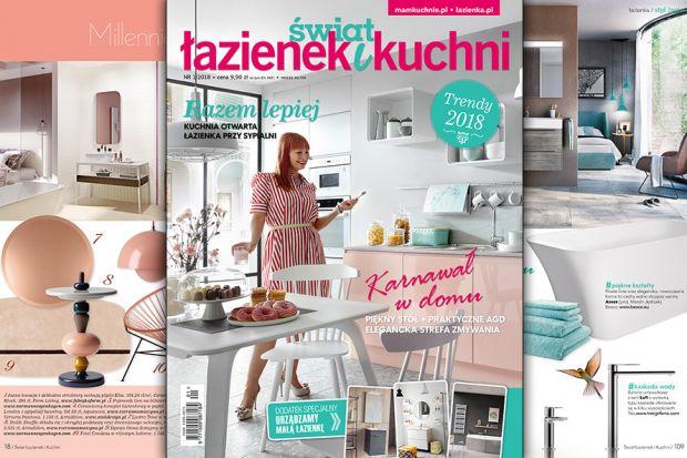 Najnowszy numer magazynu Świat Łazienek i Kuchni jest już na sklepowych półkach!