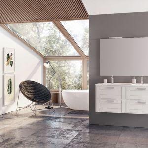 Białe meble łazienkowe z kolekcji Inge marki Elita. Fot. Elita