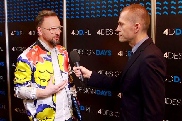 """Jakie kolory będą obowiązywały w 2018 roku? Jak za pomocą tkaniny odmienić wnętrze? Mówił o tym Artur Indyka, projektant wnętrz, prowadzący program """"Meblokreacje"""" na kanale Domo+."""