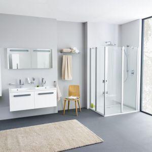 Podwieszane meble łazienkowe z kolekcji Chrome marki Ravak. Fot. Ravak