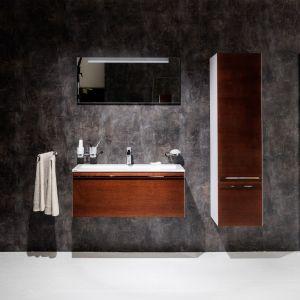 Podwieszane meble łazienkowe z kolekcji Clear marki Ravak. Fot. Ravak