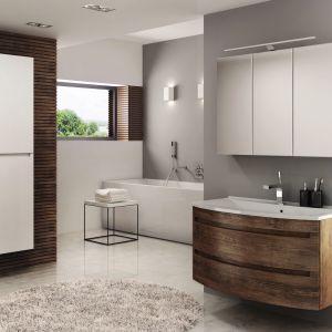 Podwieszane meble łazienkowe z kolekcji Dynamic Plus marki Devo. Fot. Devo