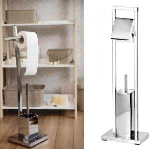 Zestaw uchwyt na papier toaletowy + szczotka do w.c. Fot. Galicja dla Twojego Domu