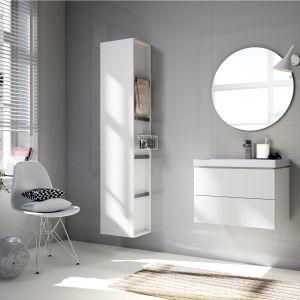 Białe meble łazienkowe z kolekcji City marki Cersanit. Fot. Cersanit