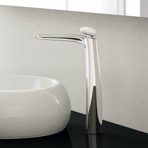 Bateria umywalkowa z serii Synergy Stone marki Fir Italia. Fot. Fir Italia