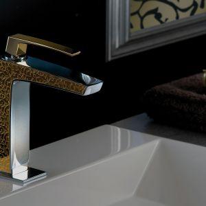 Bateria umywalkowa Luce marki F.lli Frattini dostępna w ofercie Mirad. Fot. F.lli Frattini