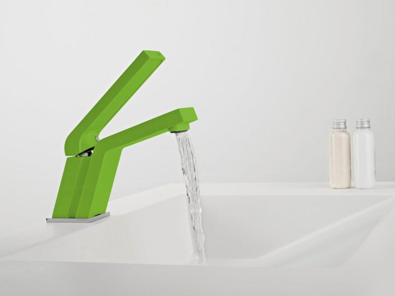 Bateria umywalkowa Icon Moonlite Green marki Teka. Fot. Teka