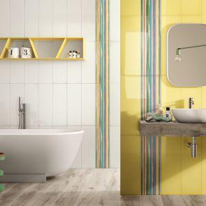 Kolorowe płytki ceramiczne z serii Glass marki Imola Ceramica. Fot. Imola Ceramica