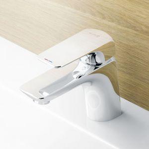 Bateria umywalkowa Kludi Ameo wyposażona w perlator s-pointer eco pozwalający oszczędzać wodę nawet przy wzroście ciśnienia, a jednocześnie ukierunkować dowolnie strumień. Fot. Kludi